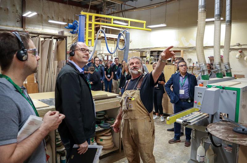 Plant tour at CKCA's Fall Regional in Halifax.