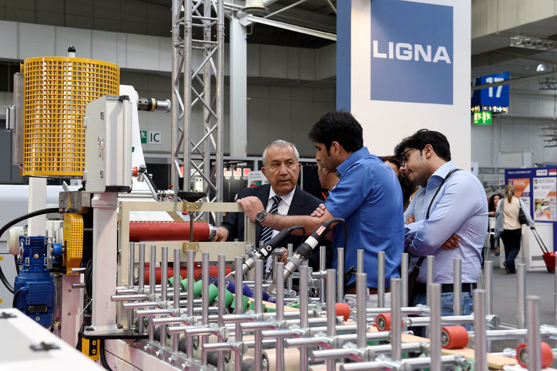 Smart Surface Technologies is the theme for the surface finishing exhibits at LIGNA 2019.