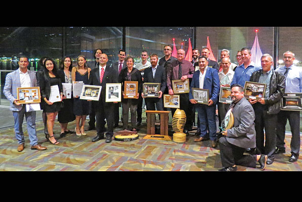 AWMAC B.C. celebrates Awards of Excellence winners.