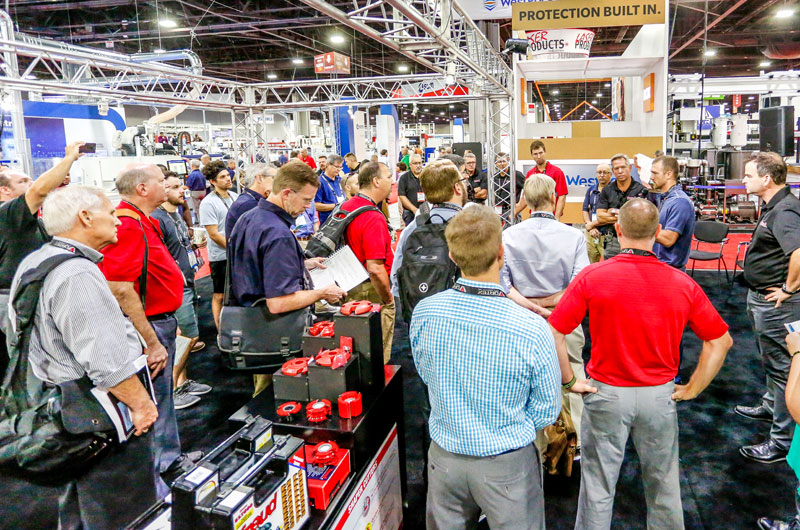 IWF delivered am impressive industry show this year.