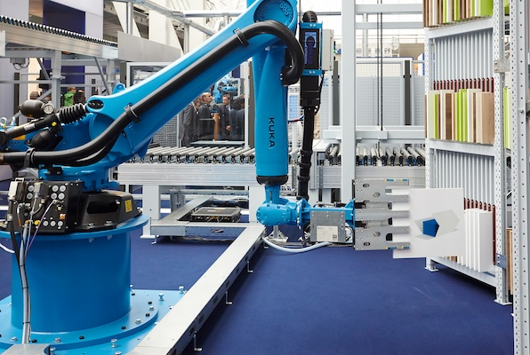 See how companies have embraced Industry 4.0 at LIGNA Conference.