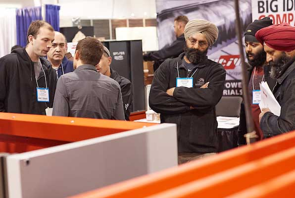WMS Toronto saw more visitors.