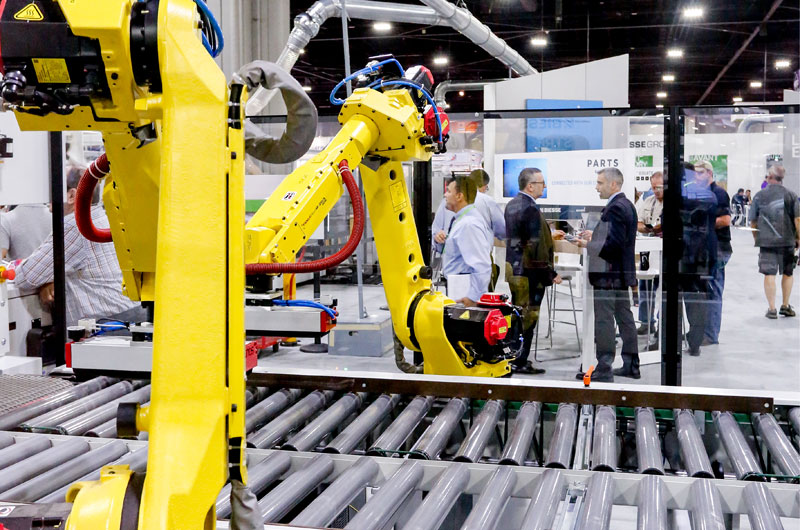 Automation was everywhere at IWF.