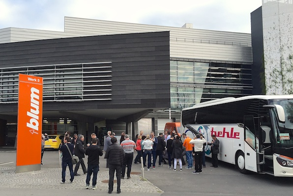 April's CKCA/Blum tour visited Blum's main plant in Hoechst, Austria.