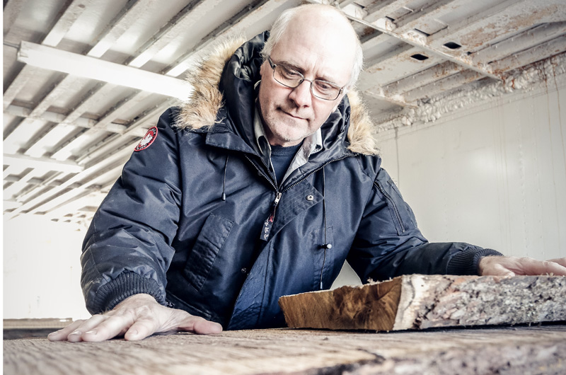 Dennis McGlynn of Creative Woods Unlimited knows wood.