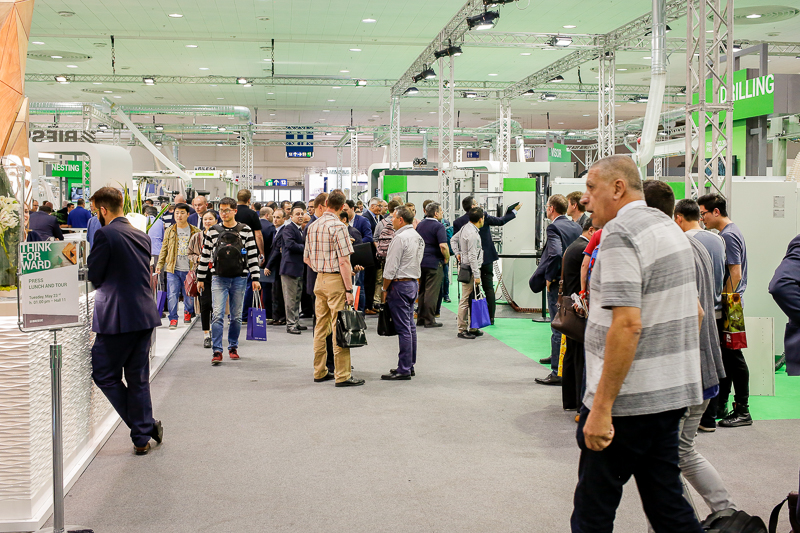 There are more than 1,500 exhibitors at this year's LIGNA.