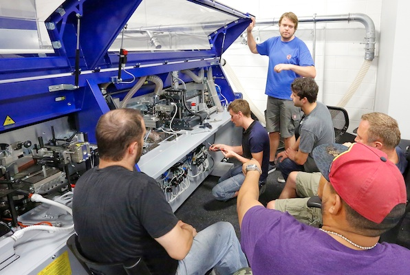 Felder Group Canada holds factory training for service technicians.