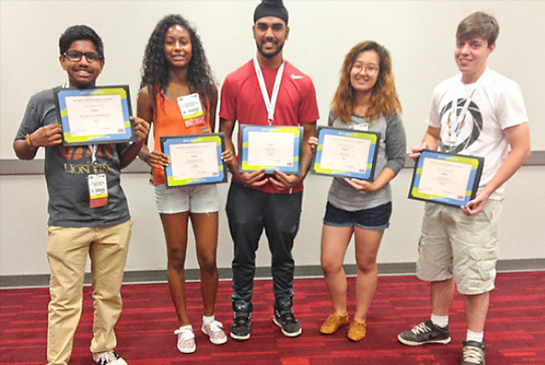 Canadian students shine at AWFS Fair's student competition.