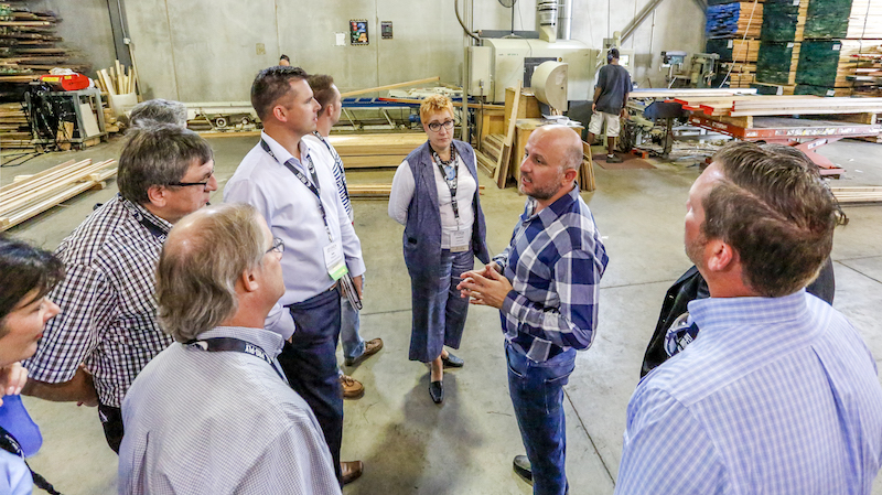 CKCA's Fall Regional meeting toured Doorland.