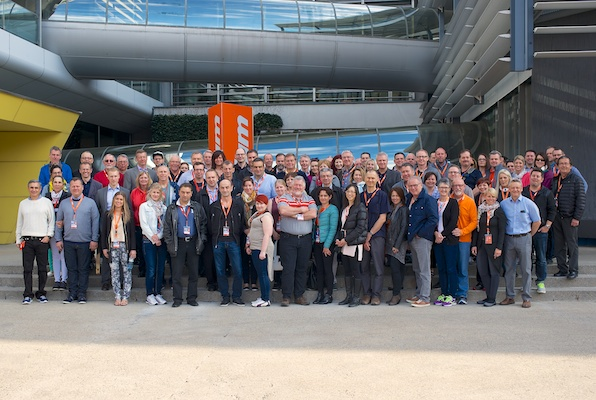 Around 80 Canadians visited Blum's offices and plants during the recent EuroCucina tour.
