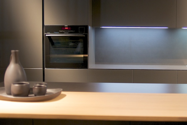 Industry-leading EuroCucina show featured minimalist designs.