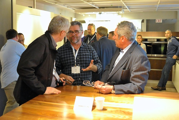 The CKCA toured Nickels Custom Cabinets in Richmond, B.C. during the National Forum.
